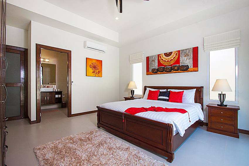 Bedroom Si Fah Villa in Phuket