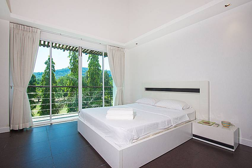 Bedroom Yu-Pha Villa in Phuket