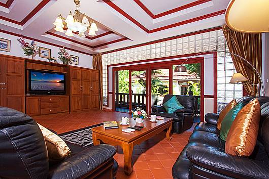 Rent Phuket Villas: Villa Somchair - 5-Beds, 5 Bedrooms.  baht per night