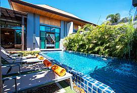 Preuk Sah Villa | 2 Bed Deluxe Phuket Pool Home in Rawai