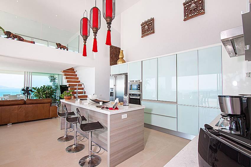 Kitchen Villa Choeng Mon in Koh Samui