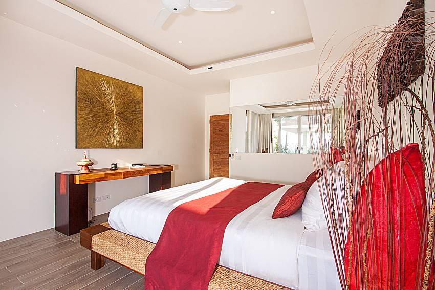 Bedroom Villa Choeng Mon in Koh Samui