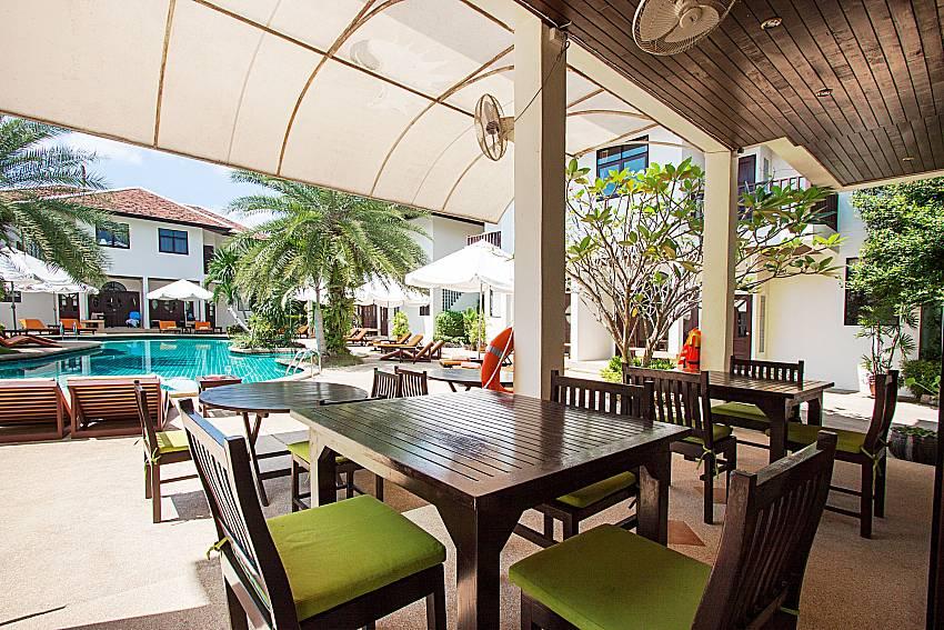 Seat area Maprow Palm Villa No. 1 in Koh Samui