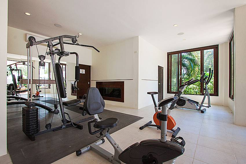 Gym Maprow Palm Villa No. 1 in Koh Samui