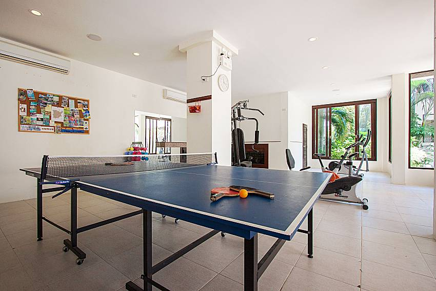 Table tennis and gym Maprow Palm Villa No. 1 in Koh Samui
