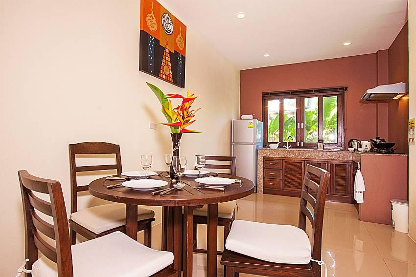 Dinning area Maprow Palm Villa No. 1 in Koh Samui