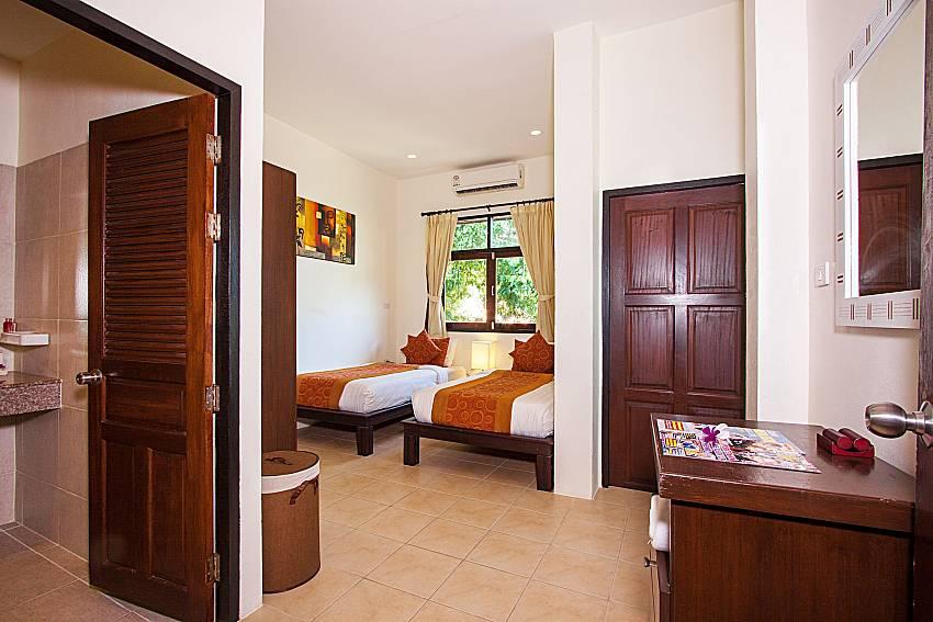 Bedroom Maprow Palm Villa No. 1 in Koh Samui
