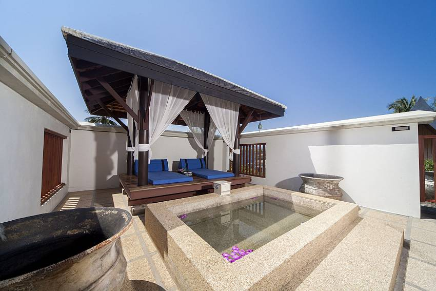 Outside Plunge Pool and Sala Sun Deck-Asian Rhapsody_infinity pool_5 bed villa_Rawai_Phuket_Thailand