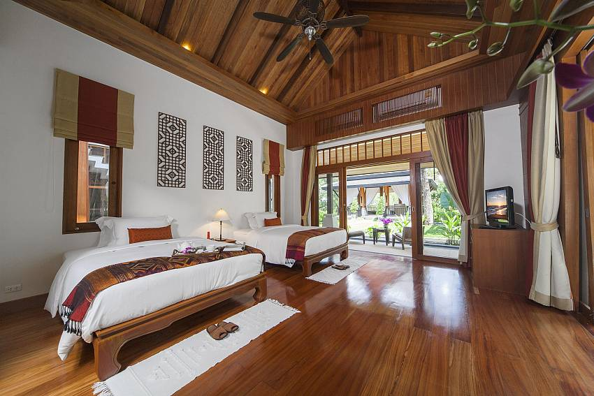 Luxurious Bedrooms-Asian Rhapsody_infinity pool_5 bed villa_Rawai_Phuket_Thailand
