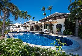 Blossom Dew Villa B - вилла с 3-мя спальнями, видом на море и ввыходом на пляж, на Самуи