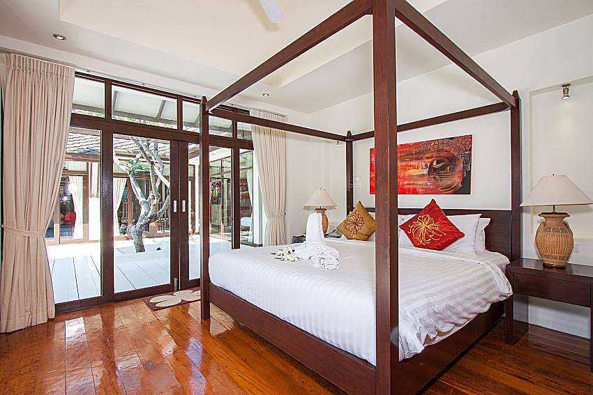 Bedroom Blossom Dew Villa B in Samui