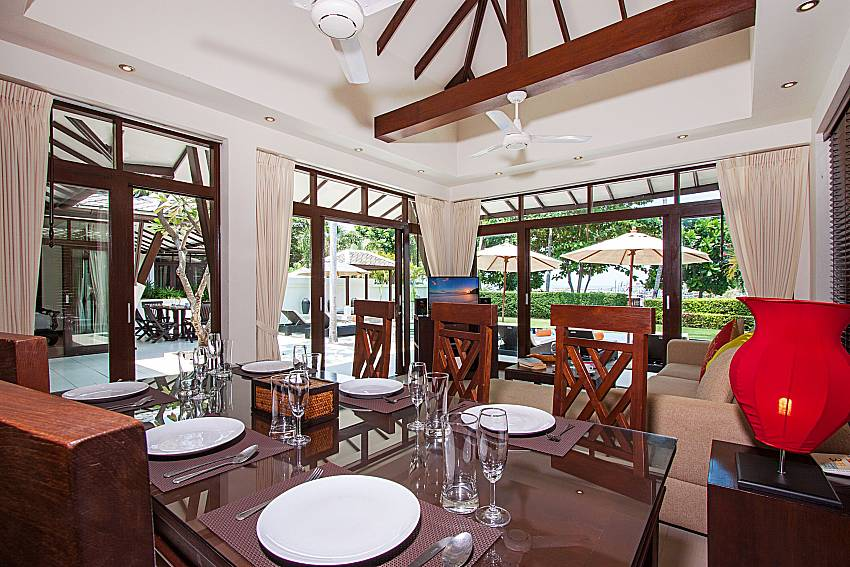 Dinning area Blossom Dew Villa C in Samui