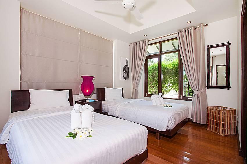 Bedroom Blossom Dew Villa C in Samui