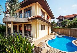 Ban Talay Khaw O11 | 4 Bed Sea View Pool Villa in Samui