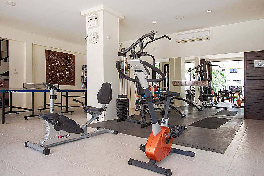 Gym Maprow Palm Villa No. 2 in Koh Samui