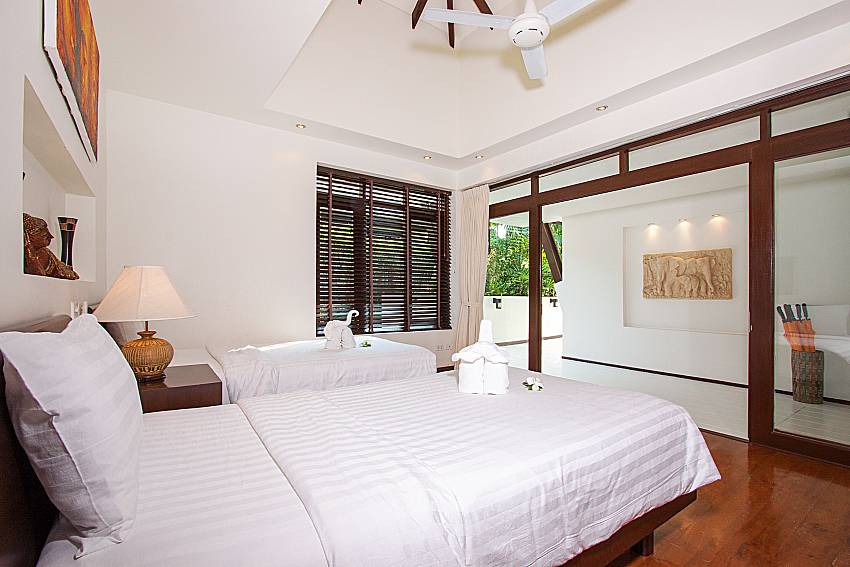 Bedroom Blossom Dew Villa D in Koh Samui