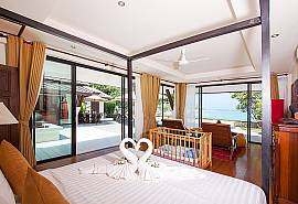 Blossom Dew Villa E | 3 Bed Beachfront House in Samui