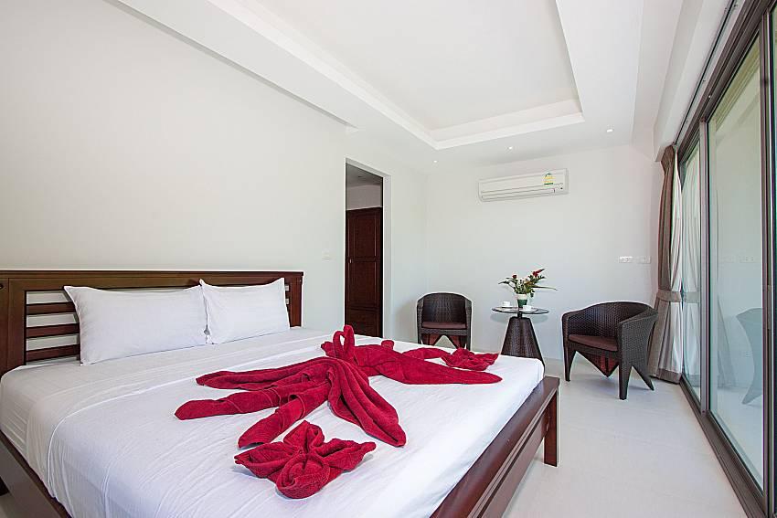 Bedroom Triumph Villa in Samui