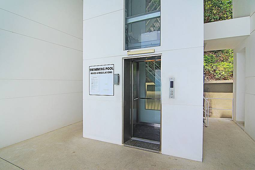 Elevator Sirinda Samui Sea View Apartment in Samui