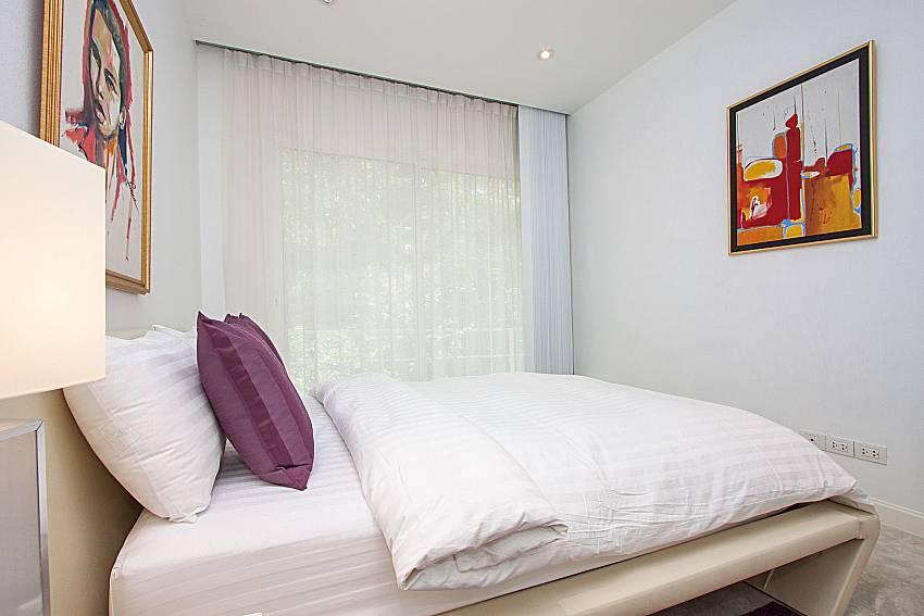 Bedroom Sirinda Samui Sea View Apartment in Samui