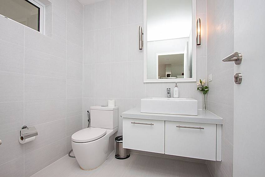 Bathroom Sirinda Samui Sea View Apartment in Samui