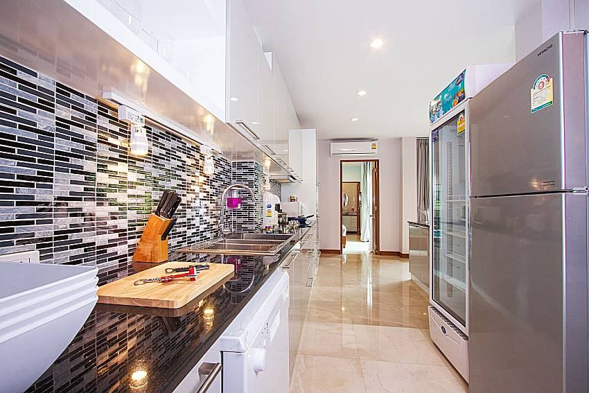 Kitchen City Haven Villa in Central Pattaya