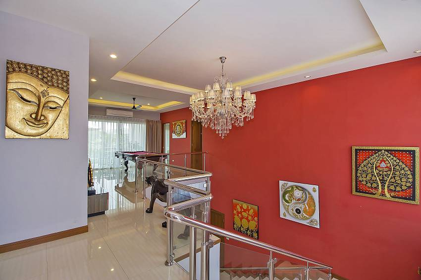 2. floor hallway of City Haven Villa in Central Pattaya