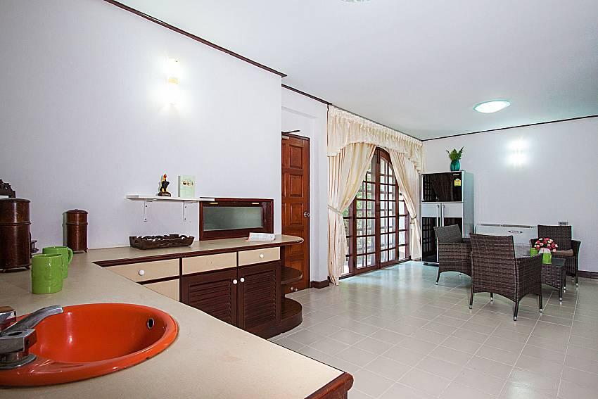 Kitchen Villa Nobility Jomtien Beach in Pattaya