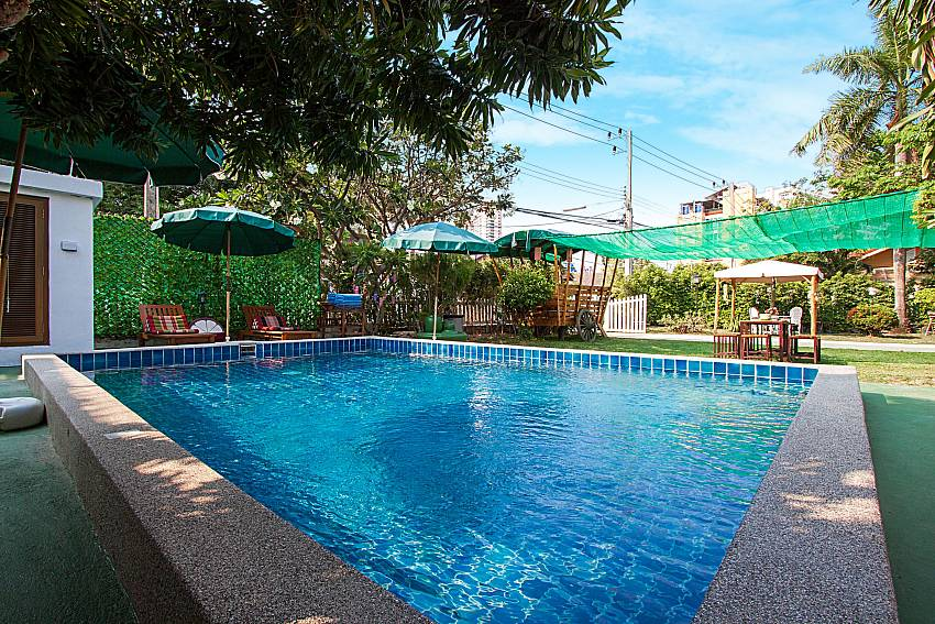 5 Bed Jomtien Villa In Pattaya With Private Pool For Rent