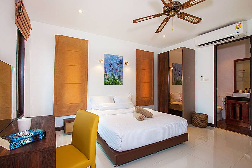 Bedroom Villa Rachana in Phuket