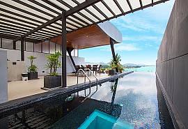 Villa Yamuna | Вилла с 3 спальнями бассейном и видом на море на Пхукете в Раваи