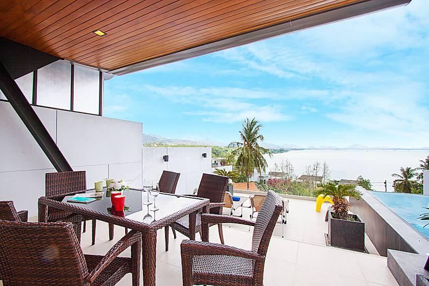 Villa Yamuna 3 Bed Sea View Pool Rental In Rawai Phuket