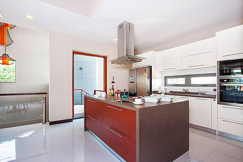 Kitchen Villa Yamini in Rawai Phuket