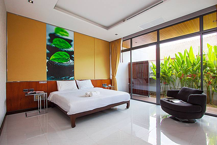 Bedroom Villa Yamini in Rawai Phuket