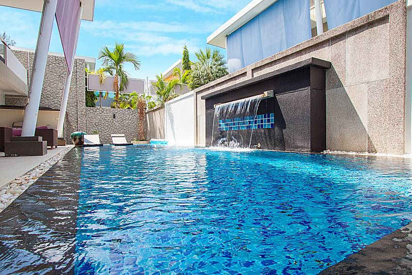 Swimming pool Villa Elina in Phuket