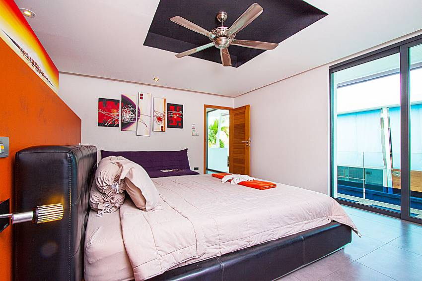 Bedroom Villa Elina in Phuket