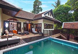 Maprow Palm Villa 301 |  3 Bed Pool Villa at Bophut Samui
