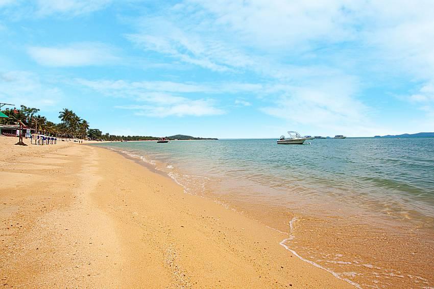 Sea view Interstellar Beachfront Villa B in Samui