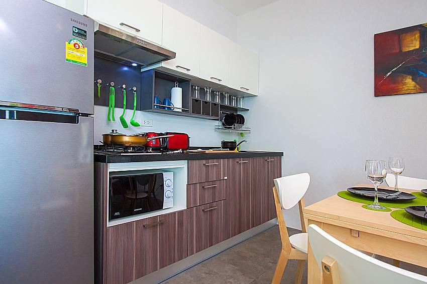 Kitchen Interstellar Beachfront Villa B in Samui