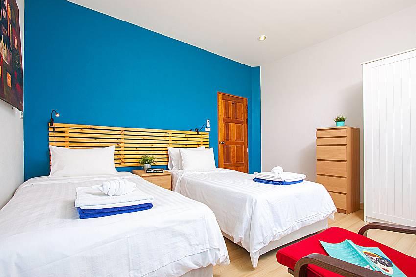 Bedroom Interstellar Beachfront Villa B in Samui