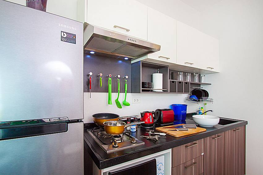 Kitchen Interstellar Beachfront Villa A in Samui