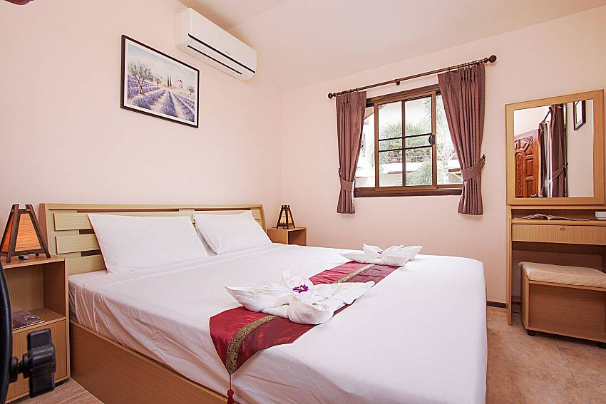 Bedroom Wan Hyud Villa No.201 at Chaweng in Samui