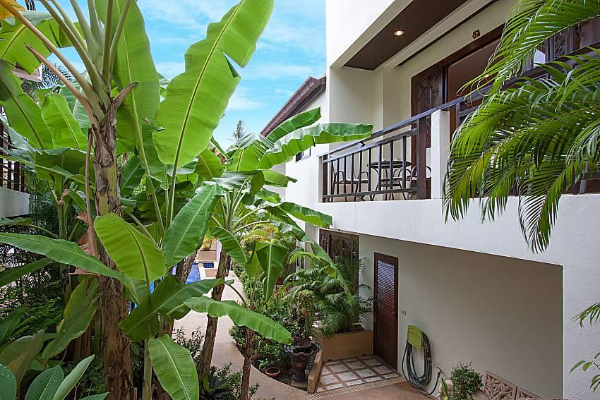 Garden Wan Hyud Villa at Chaweng in Samui