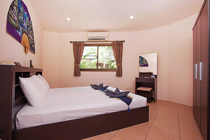 Bedroom Wan Hyud Villa No.104 at Chaweng in Samui