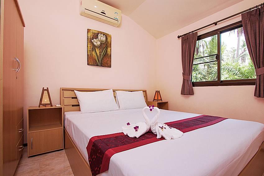 Bedroom Wan Hyud Villa No.205 at Chaweng in Samui