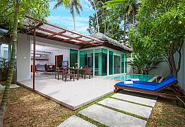 Moonscape Villa 207 | Chaweng 2 Betten Villa mit Pool in Samui