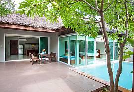 Moonscape Villa 101 | Idyllische 1 Bett Pool Mietvilla auf Koh Smaui