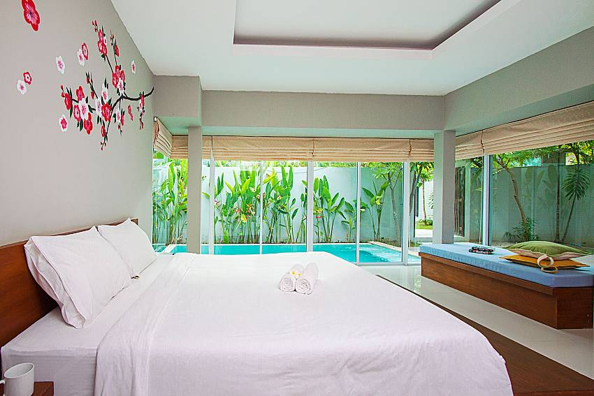 Bedroom Moonscape Villa 101 in Koh Samui