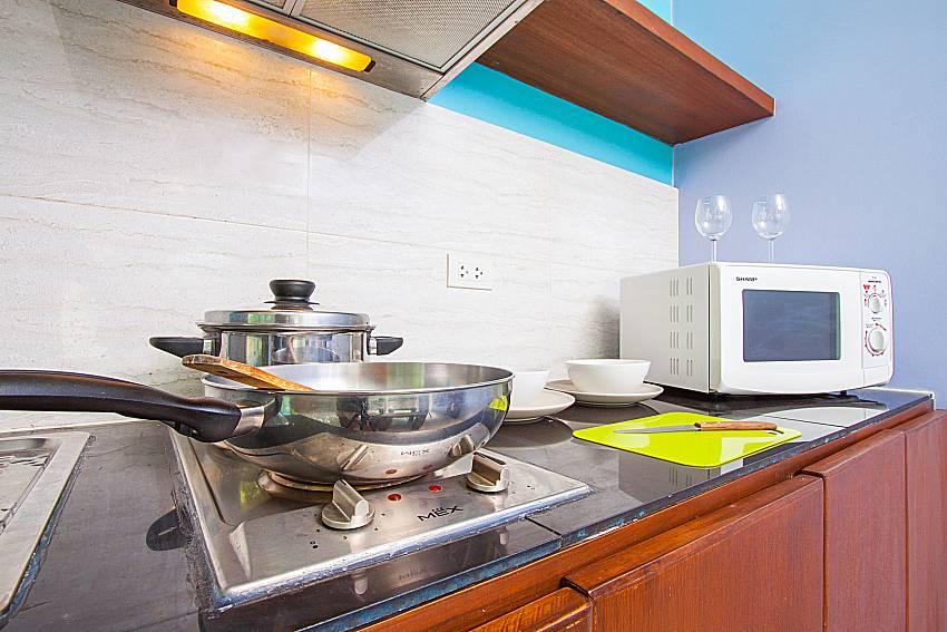 Kitchen Moonscape Villa 102 at Chaweng in Samui