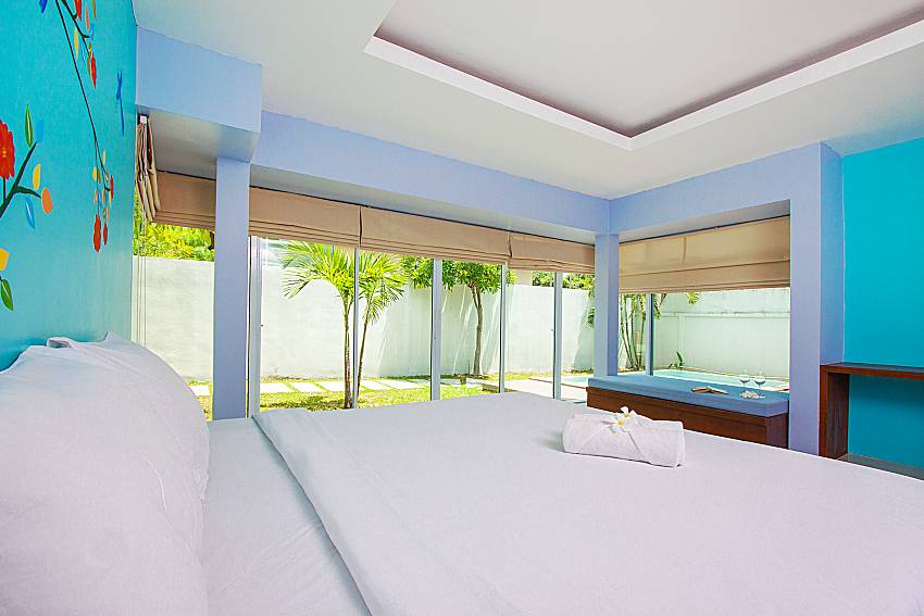 Bedroom Moonscape Villa 102 at Chaweng in Samui